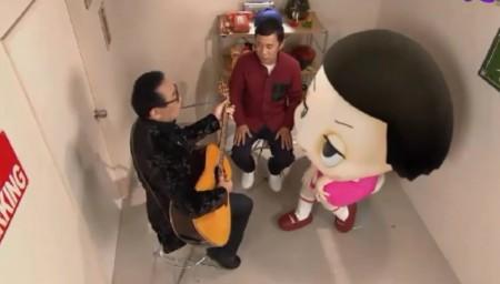 第74回 NHK「チコちゃんに叱られる!年末拡大SP」チコの部屋にさだまさし登場。弾き語り&漫談ショー状態w