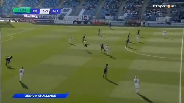 U19レアル・マドリードvsU19アヤックス