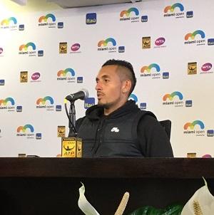 マイアミ・オープン準決勝 R・フェデラーvsN・キリオス 試合後のインタビュー