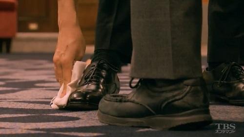 日曜劇場「小さな巨人」 香坂真一郎(長谷川博己)の靴