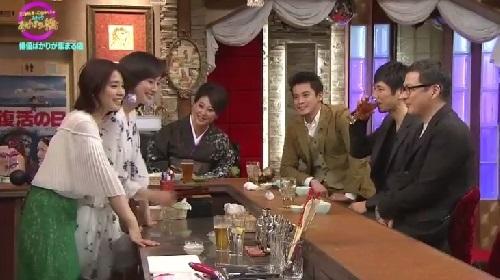 4月12日 天海祐希・石田ゆり子のスナックあけぼの橋 カンペを見る