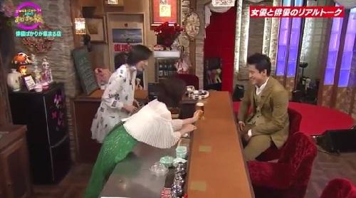 4月12日 天海祐希・石田ゆり子のスナックあけぼの橋 ビールの様子が02