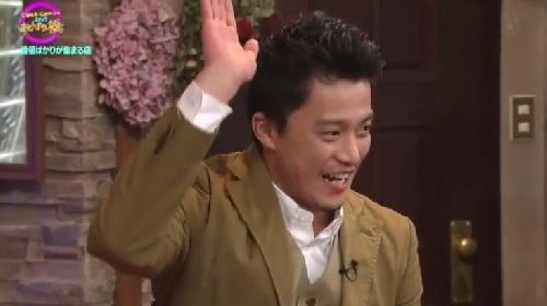 4月12日 天海祐希・石田ゆり子のスナックあけぼの橋 手を挙げる小栗旬