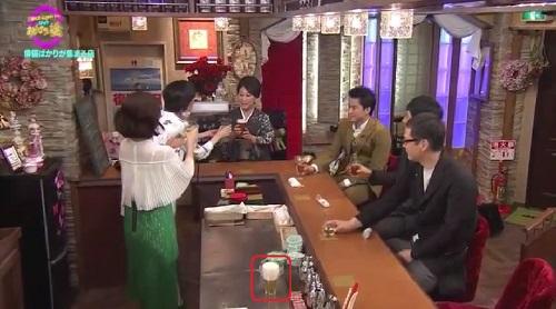 4月12日 天海祐希・石田ゆり子のスナックあけぼの橋 放っておかれた泡だらけのビール