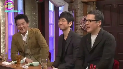 4月12日 天海祐希・石田ゆり子のスナックあけぼの橋 笑みがこぼれる3人