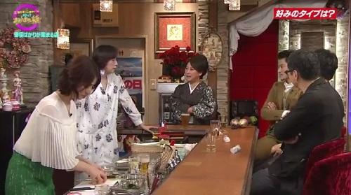 4月12日 天海祐希・石田ゆり子のスナックあけぼの橋 結局ちくわは片手で