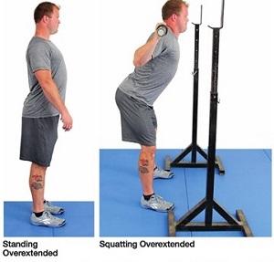 クロスフィット的スクワットの注意点 腰の過伸展