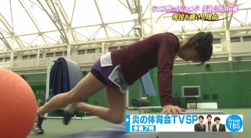 5月14日 TBS「バース・デイ」テニス界のレジェンド伊達公子46歳 現役を続ける理由 半年以上リハビリとトレーニングを積み重ねた