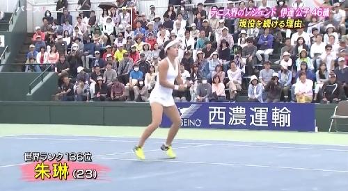 5月14日 TBS「バース・デイ」テニス界のレジェンド伊達公子46歳 現役を続ける理由 対戦相手は23歳年下の朱淋選手。世界ランキングは136位