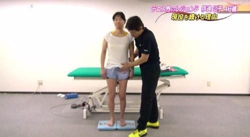 5月14日 TBS「バース・デイ」テニス界のレジェンド伊達公子46歳 現役を続ける理由 筋肉が細くなった左脚は右と比べてこんなにも