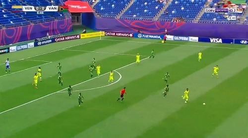 FIFA U-20 ワールドカップ 韓国大会 2017 グループB ベネズエラ vs バヌアツ戦 (2)