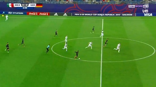 FIFA U-20 ワールドカップ 韓国大会 2017 グループB メキシコ vs ドイツ戦 (1)
