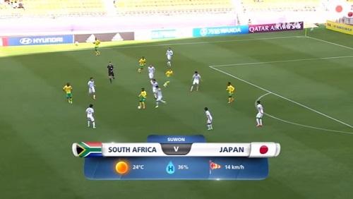 FIFA U-20 ワールドカップ 韓国大会2017 5月21日(日) グループD 南アフリカ vs 日本戦 試合結果、ゴールシーン