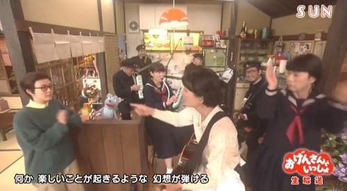 NHK おげんさんといっしょ くす玉を割るお父さん:高畑充希とおげんさんちのねずみ:宮野真守が登場
