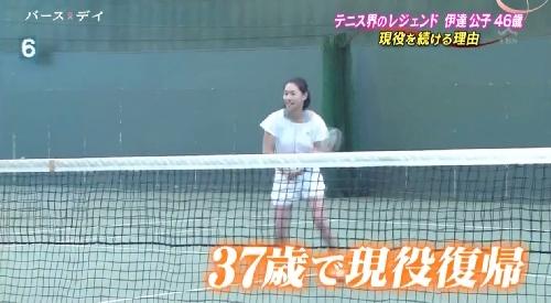TBS「バース・デイ」伊達公子の戦いの記録 37歳で現役復帰