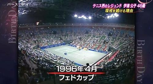 TBS「バース・デイ」伊達公子の戦いの記録 1996年4月フェドカップ