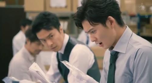 TBS 日曜劇場 「小さな巨人」 第6話 芝署編完結 山田春彦(岡田将生)が証拠品を発見