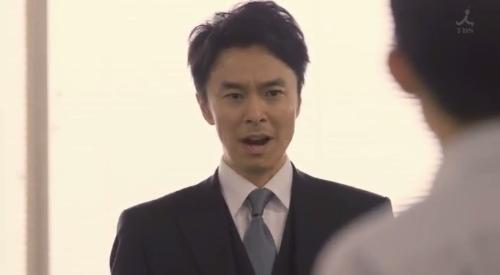 TBS 日曜劇場 「小さな巨人」 第6話 芝署編完結 所轄で報告する香坂真一郎(長谷川博己)