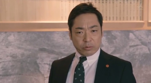 TBS 日曜劇場 「小さな巨人」 第6話 芝署編完結 捜査一課長というものはそういうものなのだと言う小野田義信一課長(香川照之)
