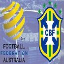 サッカー・国際親善試合 オーストラリア代表 vs ブラジル代表戦