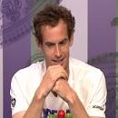 ウィンブルドン選手権 1日目を終えて。 マレーの記者会見の様子