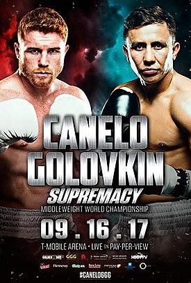 ボクシング ゲンナジー・ゴロフキン vs サウル・カネロ・アルバレス戦