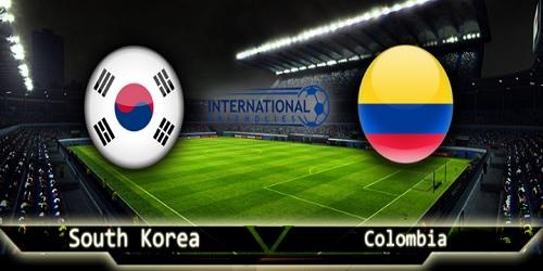 2017年11月10日 サッカー 国際親善 強化試合 韓国 vs コロンビア