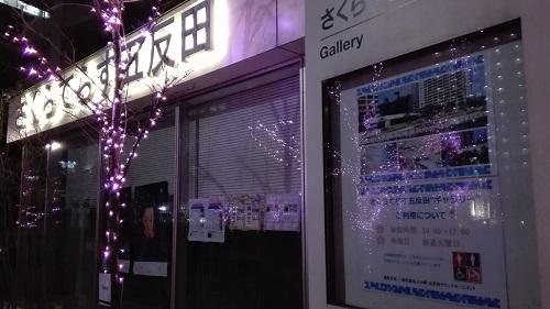 目黒川みんなのイルミネーション2017 五反田ふれあい水辺広場 さくらてらす五反田