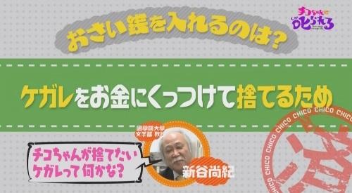 NHK 第3弾「チコちゃんに叱られる!」2017年12月27日 チコちゃんが捨てたいケガレって?