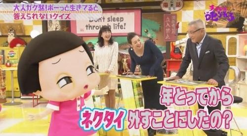 NHK 第3弾「チコちゃんに叱られる!」2017年12月27日 大竹まことイジり ネクタイ