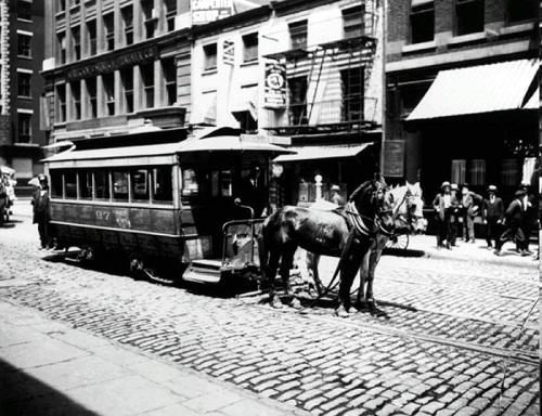ブルックリンの馬車鉄道