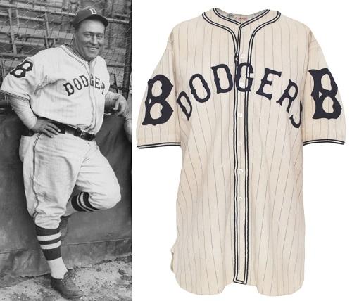1933年 ブルックリン・ドジャースのユニフォーム