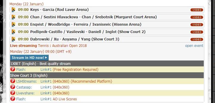 batmanstreamの使い方 Show Court3 チャンネルリンク選択のコツ