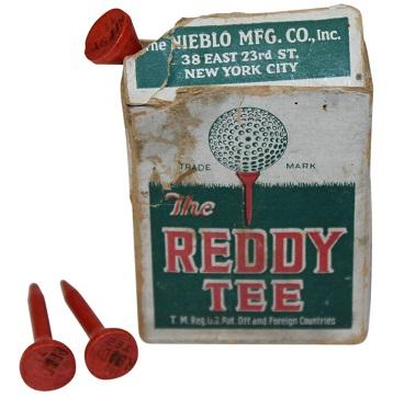 ウィリアム・ローウェル・シニア(William Lowell Sr.) The Reddy Tee ゴルフティーの歴史