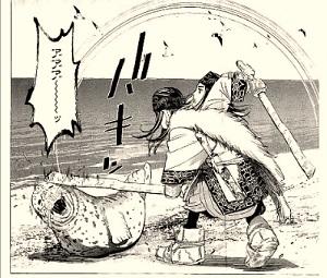 ゴールデンカムイ7巻 アザラシ02
