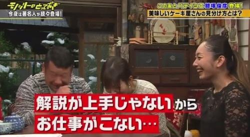 フジテレビ「モノシリーのとっておき」フィギュア 安藤美姫 解説の仕事が来ない