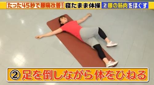 寝起きの腰痛と寝返りの回数 この差って何ですか? 体を倒す