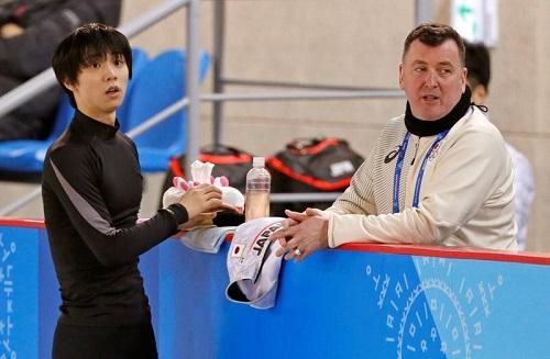 平昌オリンピック ブライアン・オーサーコーチと羽生選手