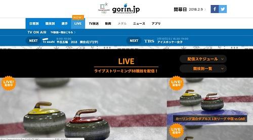 日本のオリンピック公式サイト「gorin.jp」の使い方