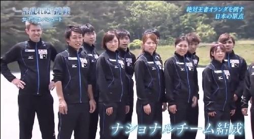 NHK 日本女子団体パシュート ナショナルチーム