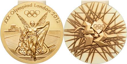 2012ロンドンオリンピックの金メダル