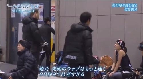 NHK 日本女子団体パシュート デ・ヴィッドコーチ 佐藤選手の出来に不満のよう