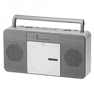 OHM ワンセグCDラジオ RCR-T822K 商品重量1659g