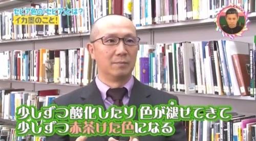 チコちゃんに叱られる! 東京造形大学 池上英洋 イカ墨インクの特徴