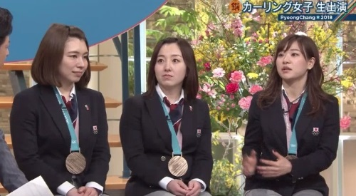 2月26日報道ステーション カーリング女子 吉田知那美解説 本橋麻里の役割