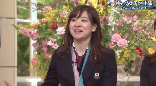 2月26日報道ステーション カーリング女子 吉田知那美解説 3cm