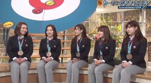 2月26日報道ステーション カーリング女子 本橋麻里解説 作戦もみてもらえれば