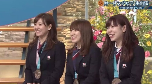 2月26日報道ステーション カーリング女子 吉田夕梨花解説 ミュアヘッド先輩