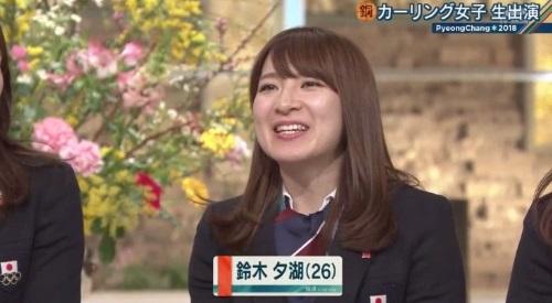2月26日報道ステーション カーリング女子 鈴木夕湖解説 危ないな