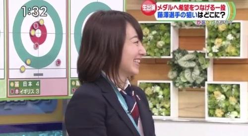 2月27日ひるおび! カーリング女子 藤澤五月解説 吉田知那美とあっと
